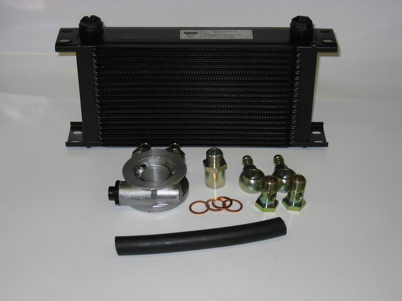 JapTuning 19 row oil cooler kit