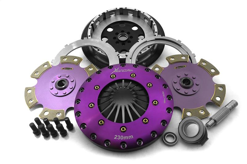 Xtreme Clutch twin plate 230mm keramisk