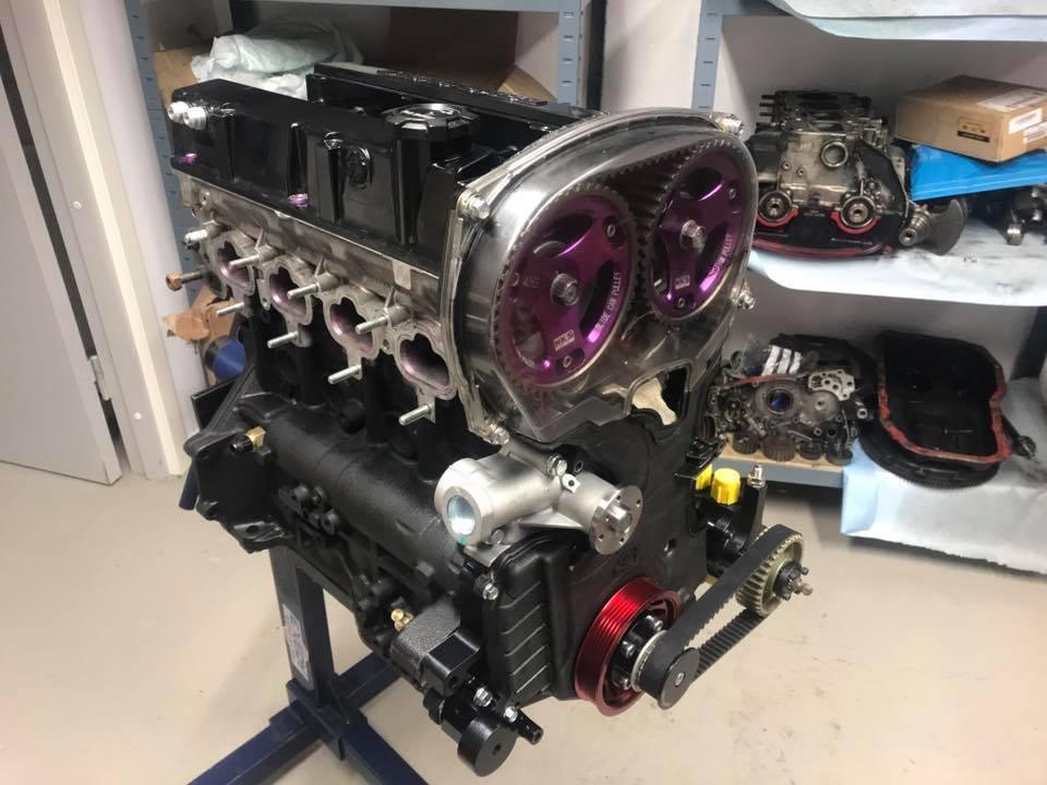 bygga smidd motor