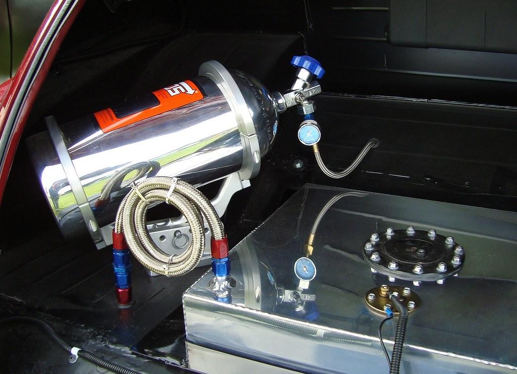 Lustgas i bil